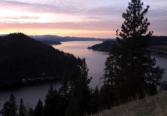 Idaho: Coeur d' Alene Lake