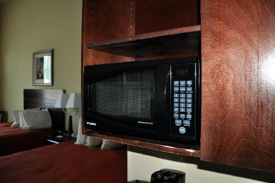 Country Inn & Suites By Carlson, Savannah Airport: Microwave and fridge