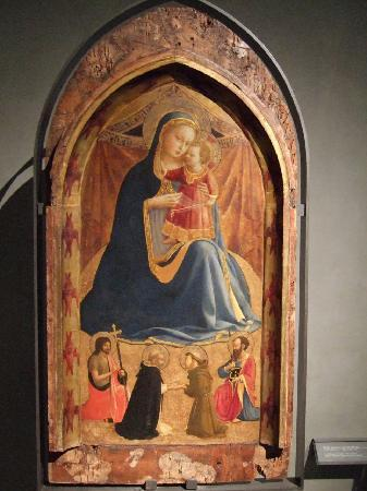 National Gallery (Galleria Nazionale): フラ・アンジェリコの聖母子像