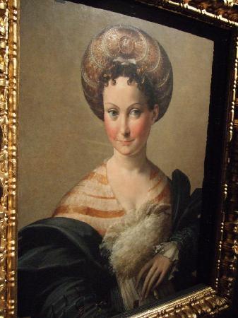 National Gallery (Galleria Nazionale): パルミジャニーノの「トルコの女奴隷」