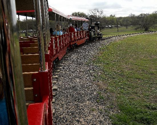San Antonio Zoo Eagle Train: Train Ride