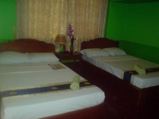 Hostel Siem Reap : Double and Single Bed