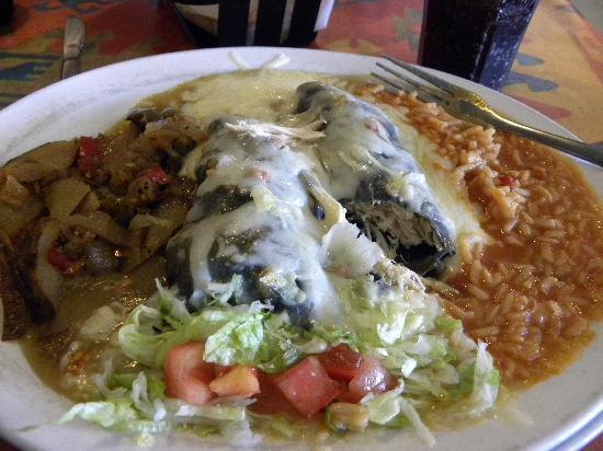 Santa Rosa, NM: santa fe enchiladas