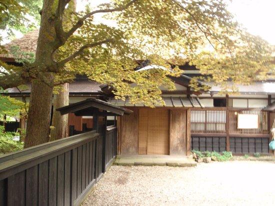 Ishiguro Samurai House: 正面より母屋