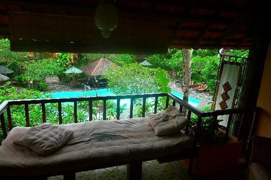 Dusun Jogja Village Inn: view from room 205