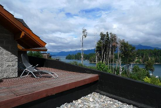 Las Ramblas de Puerto Manzano: vista dalla terrazza della jacuzzi esterna