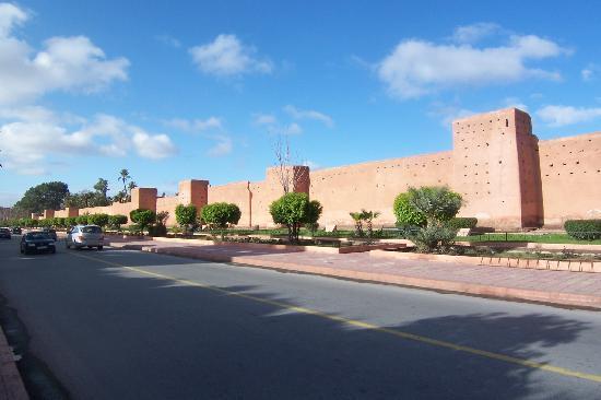 Es Saadi Marrakech Resort - Palace : les remparts de Marrakech