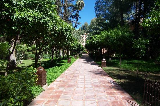 Es Saadi Marrakech Resort - Palace : le jardin