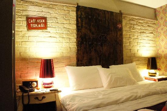 Hypnos Design Hotel: Hypnose Boutique Hotel Istanbul_Gypsy room
