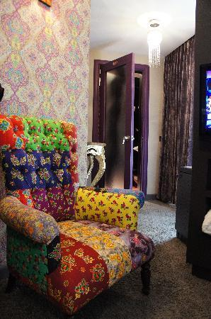 Hypnos Design Hotel: Hypnose Boutique Hotel Istanbul_Gypsy room details