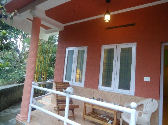 Kerala House: our sitting earea