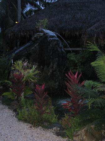 Te Vara Nui Village: AMAZING WATER FEATURE