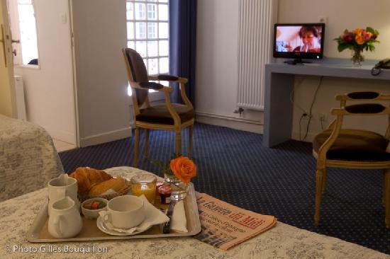Chambre donnant sur le patio Hôtel ROYAL WILSON