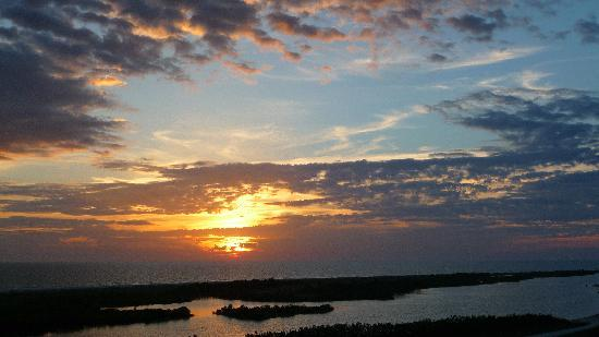 South Seas Towers Condominiums: Incredible sunsets from South Seas Tower 3