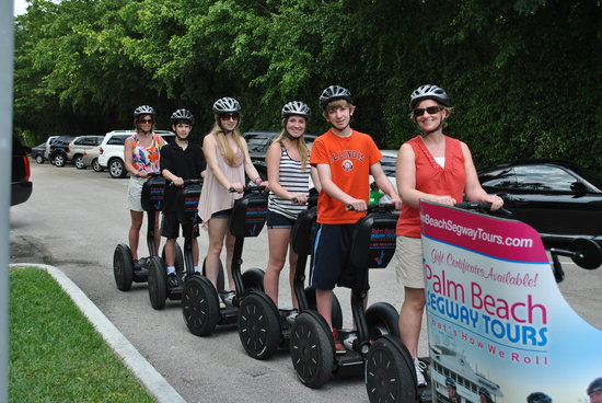Photo of Tourist Attraction Palm Beach Segway Tours at 330 Clematis St, West Palm Beach, FL 33401, United States