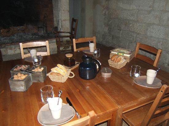 Domaine Sainte-Cecile : colazione