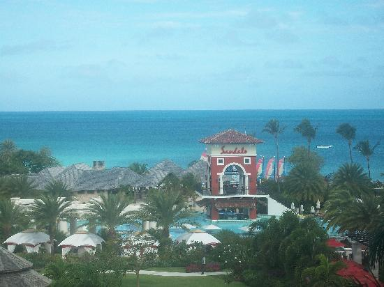 Sandals Grande Antigua Resort & Spa : The view from the tower.