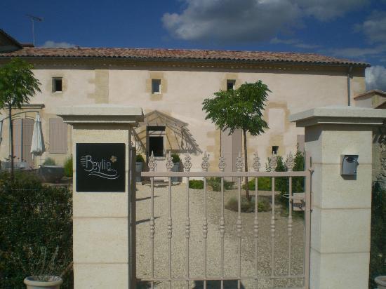 Maison D'hotes Bordeaux Saint Emilion : Villa Beylie: entrance