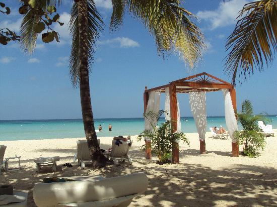 Couples Swept Away: View from Lounge Chair