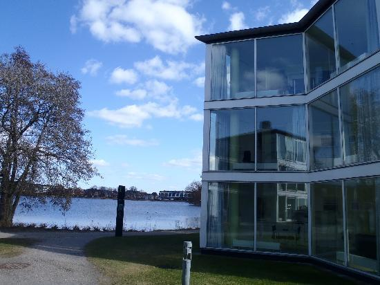 Kolding Hotel Apartments: Kolding Byferie - some of the apartments have a view of the lake
