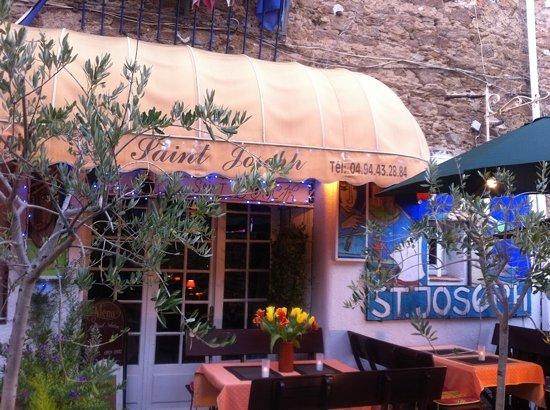 Restaurant Saint Joseph : terrasse du St. Joseph
