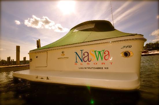 The Naswa Resort: NASWA Boat