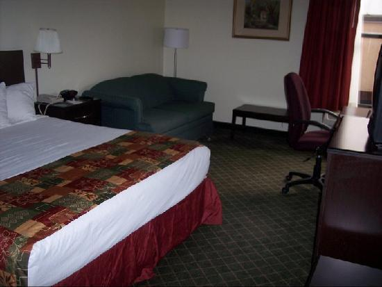 BEST WESTERN PLUS Historic Area Inn: King Bed Suite