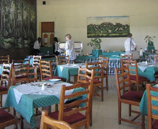 Golf Hotel Kakamega: Restaurant