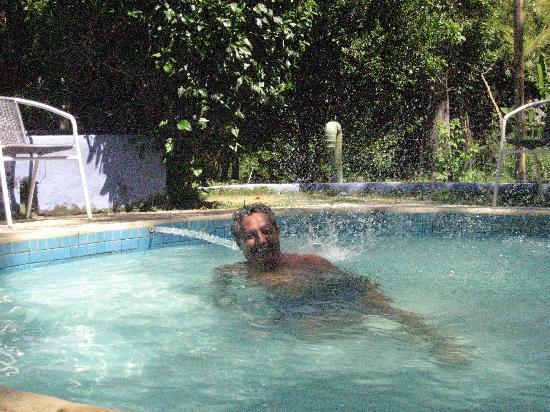 Hotel Posada La Bokaina: Disfrutando de los chorros
