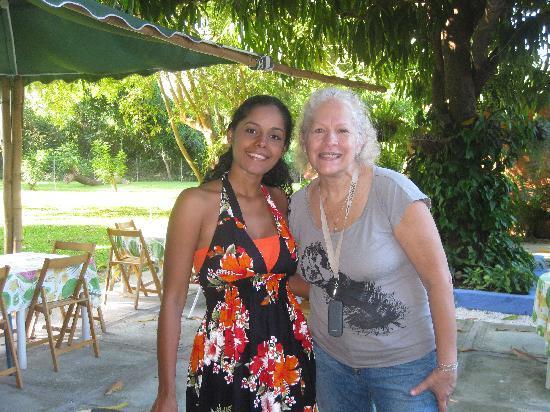 Hotel Posada La Bokaina: Dos venezolanas