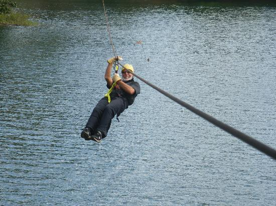 Patty's Casitas: Zip Lining