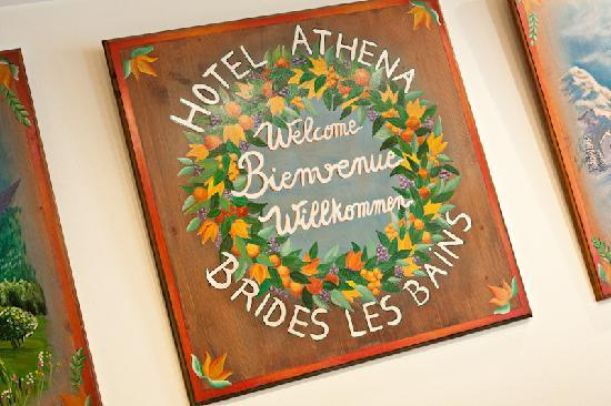 Hotel Athena: Acceuil