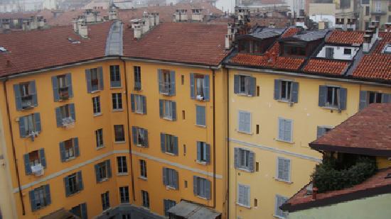 Idea Hotel Milano Corso Genova: Vista desde la habitación