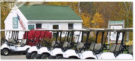 Eagle Mountain House & Golf Club: Golf at Eagel Mountain House