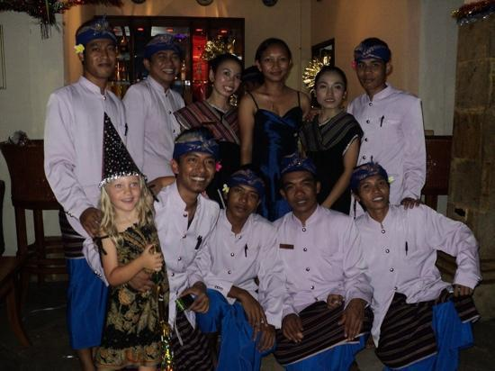 Villa Almarik Resort Lombok: new years eve party