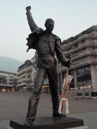 Montreux, Switzerland: freddy mercury