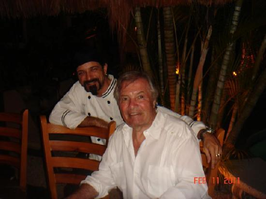 Mayan Bistro: Chef Marco with guest Jacques Pepin