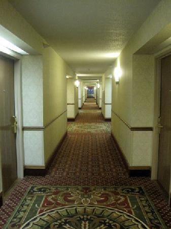 Holiday Inn Express Portage: Hotel hallway