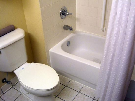 Baymont Inn & Suites Portage: Shower space