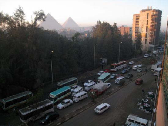 Delta Pyramids Hotel: 部屋からの眺め