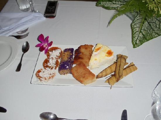 Sirangan Beach Resort: you get to taste some native treats