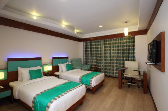 Hotel Indraprastha: Deluxe Twin Bed