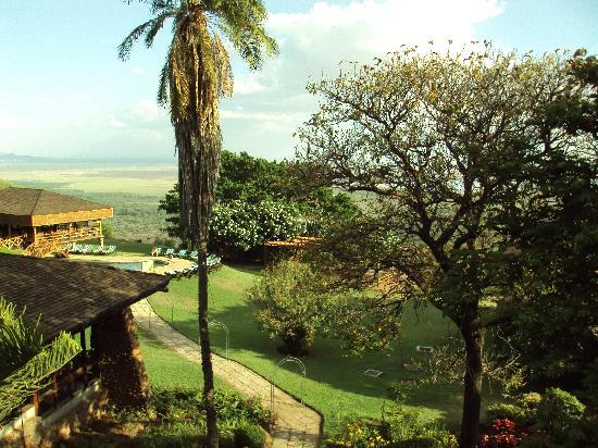 Lake Manyara Hotel: view from balcony