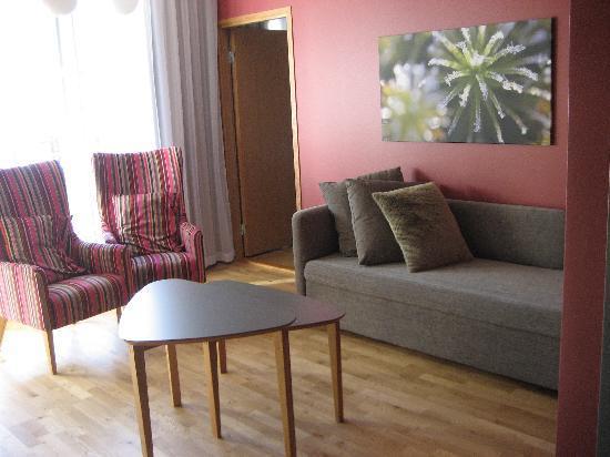 Break Sokos Hotel Levi: Suite lounge area