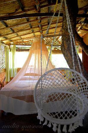 Safari Land Farm & Guest House : Room inside the tree house