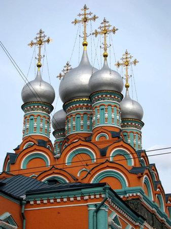 موسكو, روسيا: Chiesa di San Giorgio della via Polianka, XVII. sec. www.guida-mosca.com