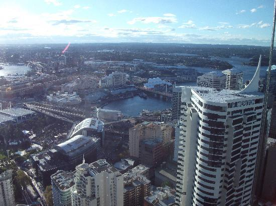 Meriton Suites World Tower : view from room by day