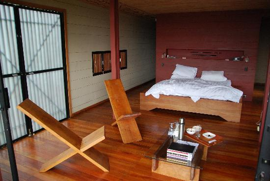 Hamadryade Lodge: The room... super comfort but also super eco/nature