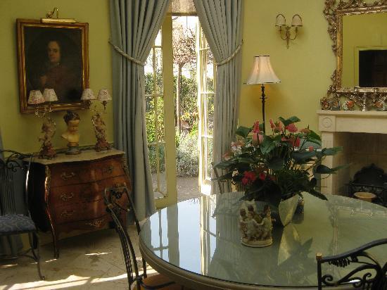 Queen Charlotte's Orangery : the breakfast room