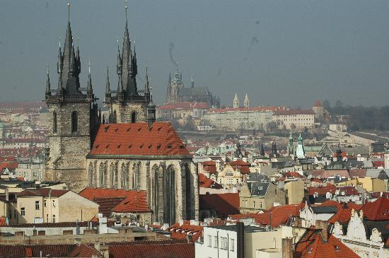 Prague, Czech Republic: Red roofs
